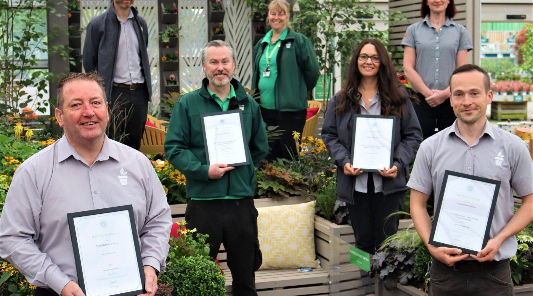 Bradford business wins four prestigious Garden Centre Association…