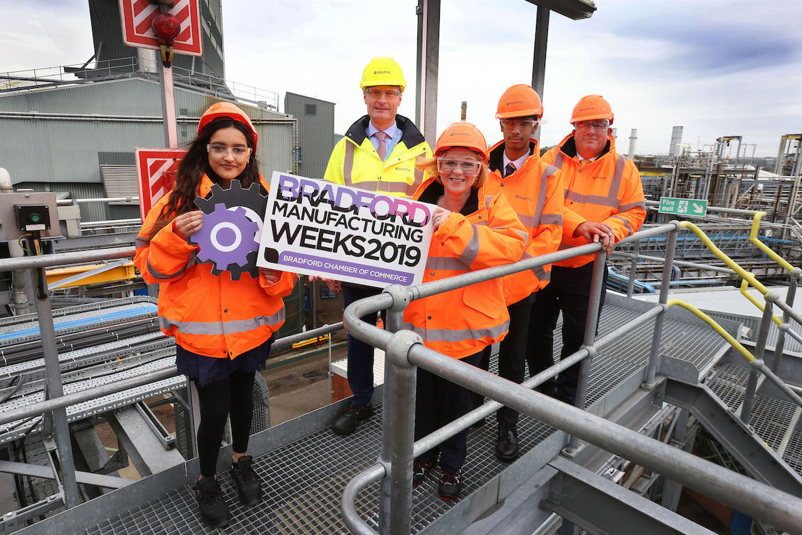 Students and businesses celebrate the start of Bradford…
