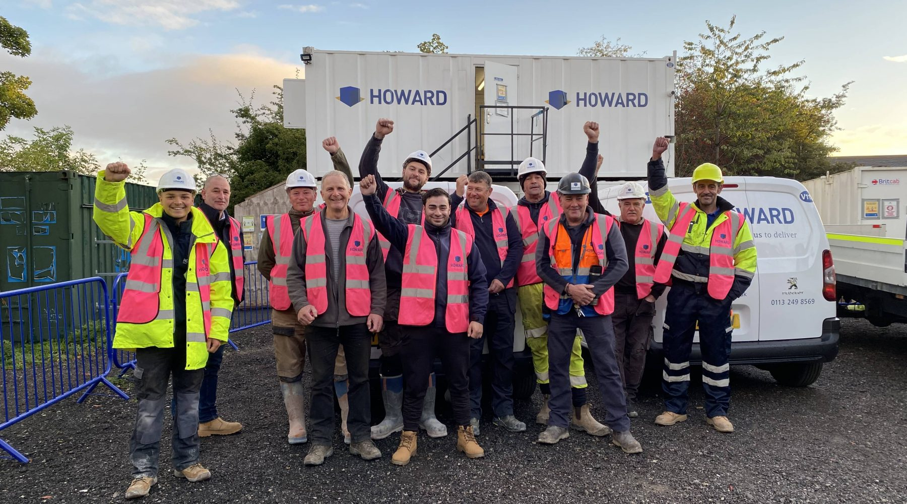 Greengates contractors look pretty in pink for breast…