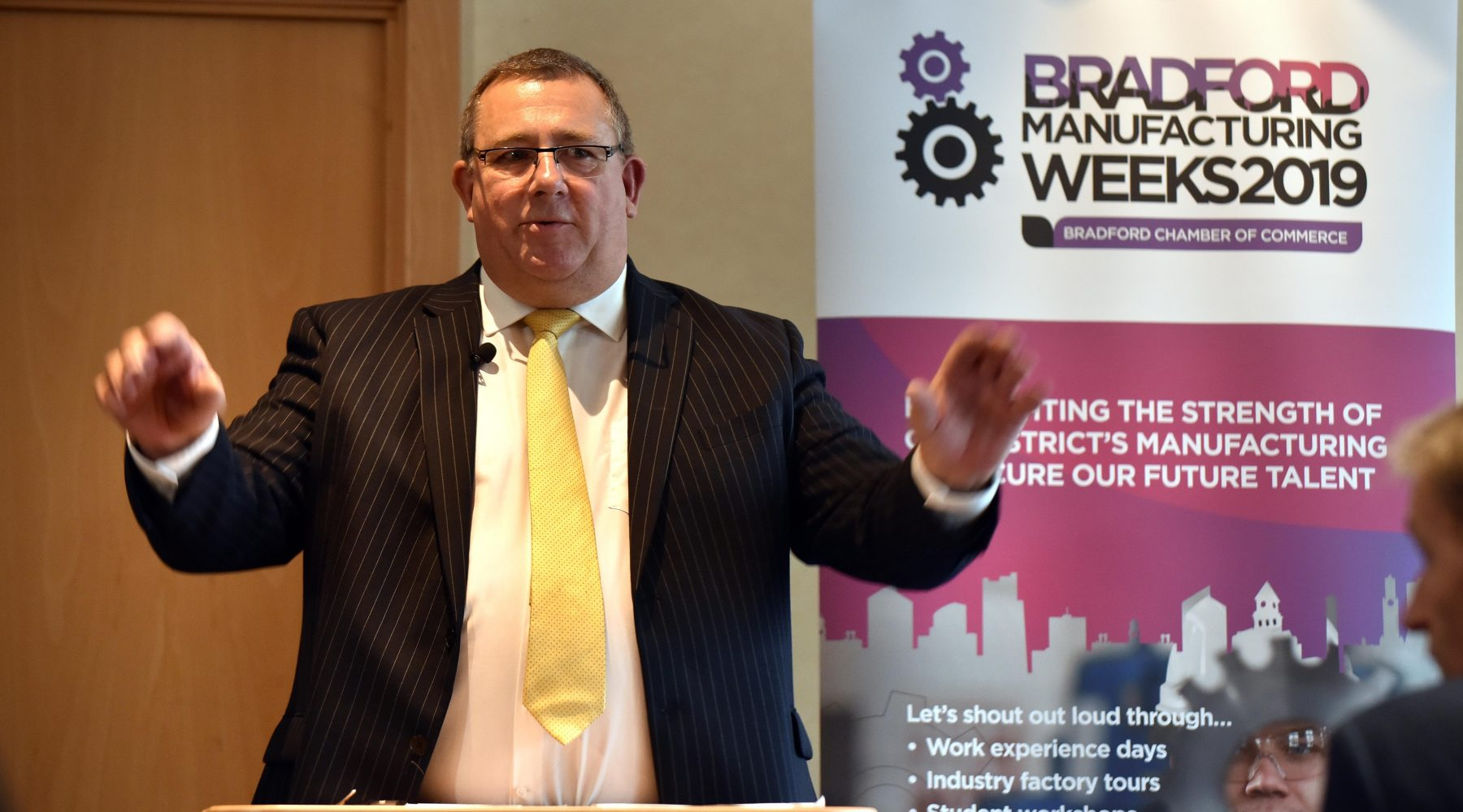 Bradford Manufacturing Weeks Launch 2019