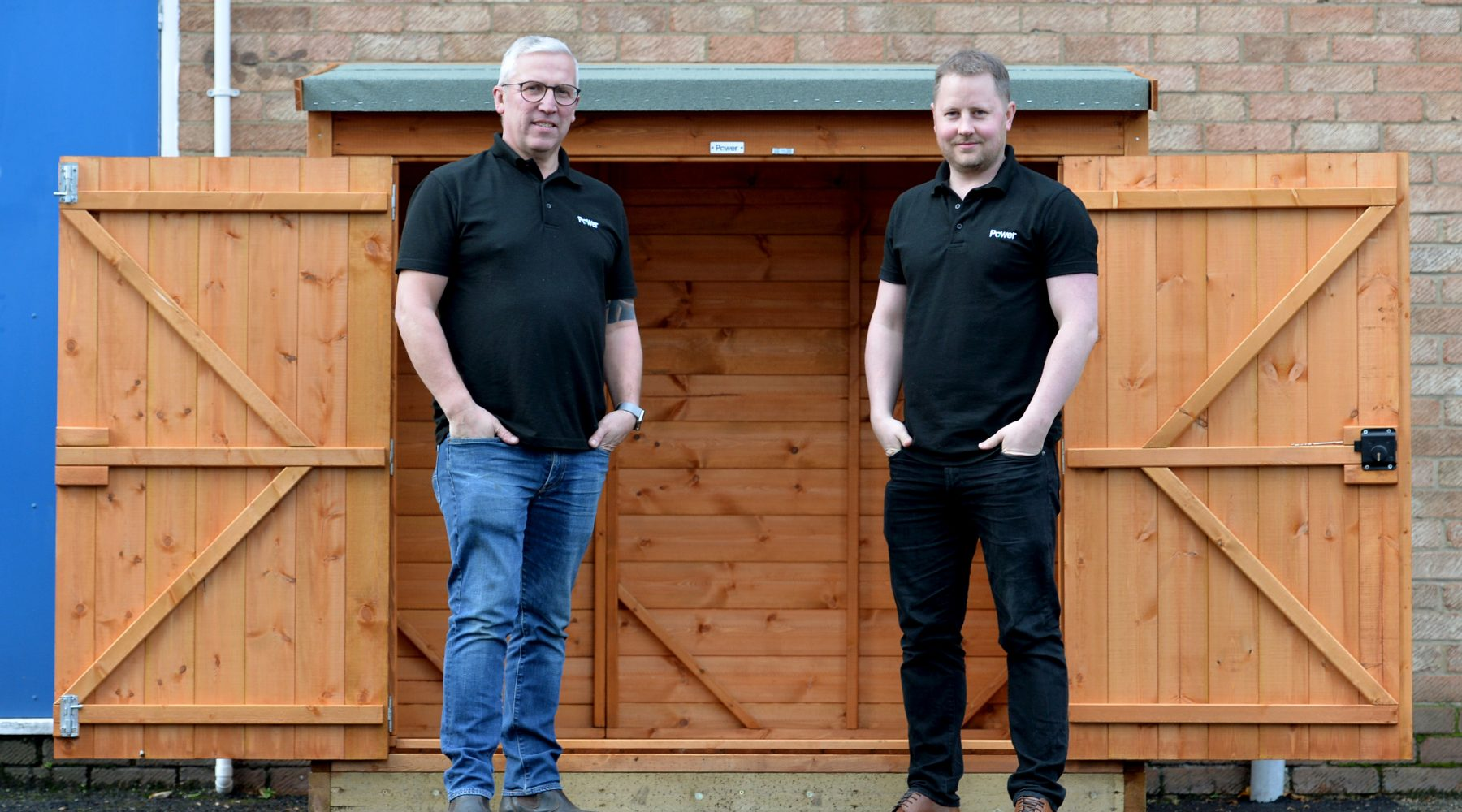 Bradford manufacturer Power Sheds in line for TWO…