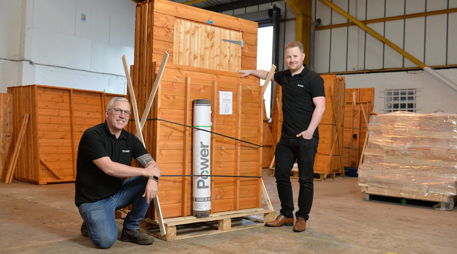 BRADFORD BASED POWER SHEDS SHORTLISTED FOR A THIRD…