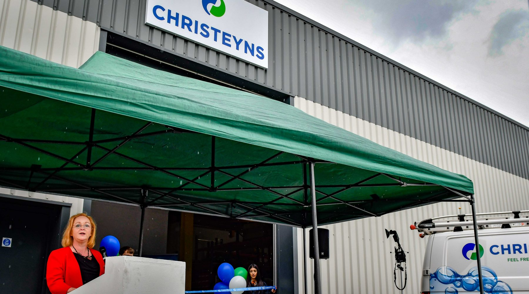 Opening of Christeyns new engineering facility
