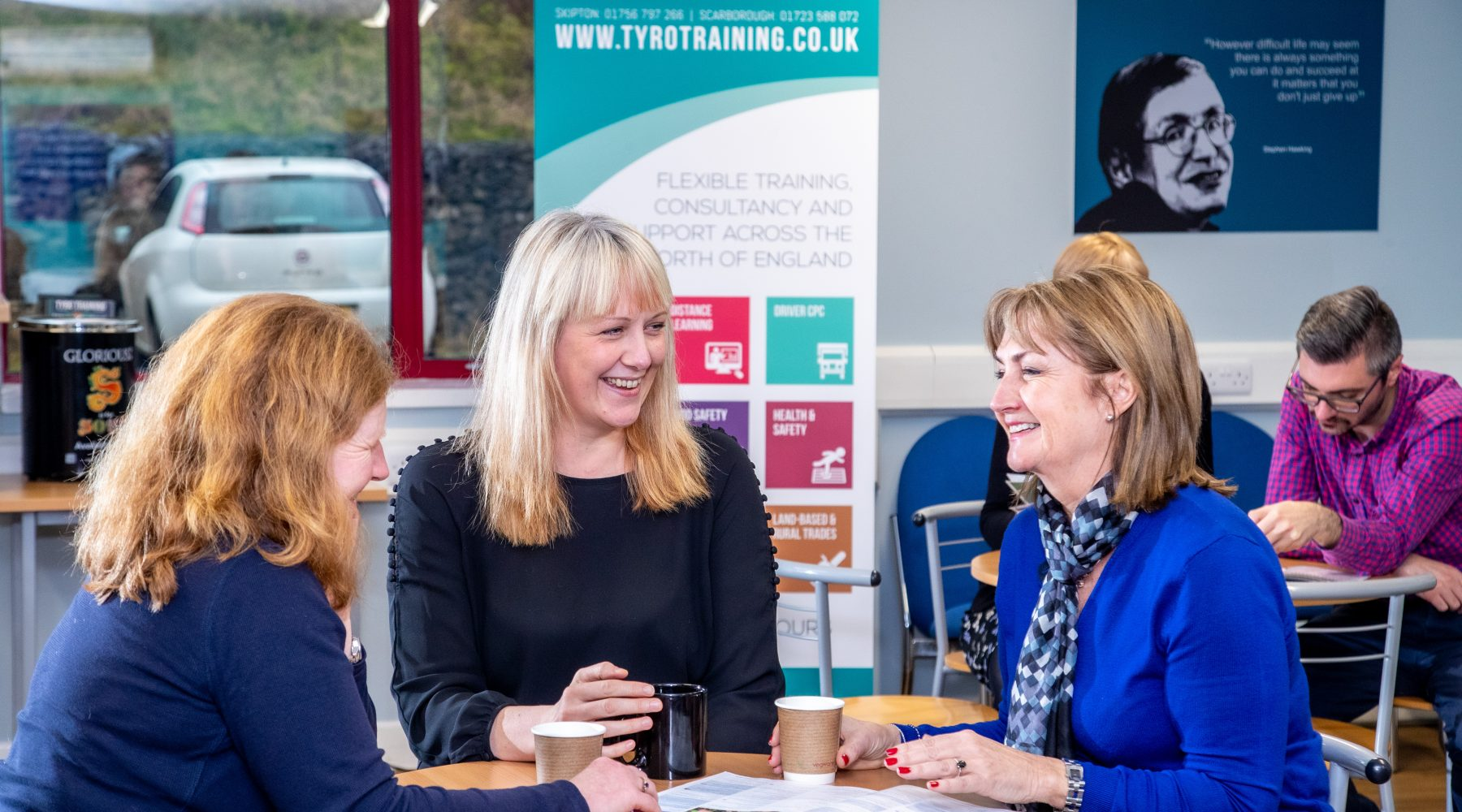 Business Class Support at Craven College