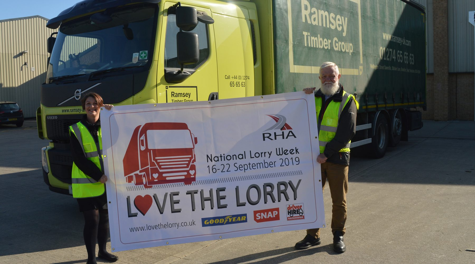 BRADFORD BASED RECRUITER SUPPORTS NATIONAL LORRY WEEK