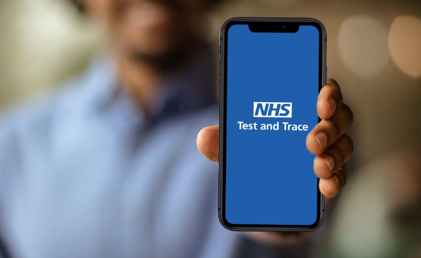 NHS Test & Trace Webinar Invitation