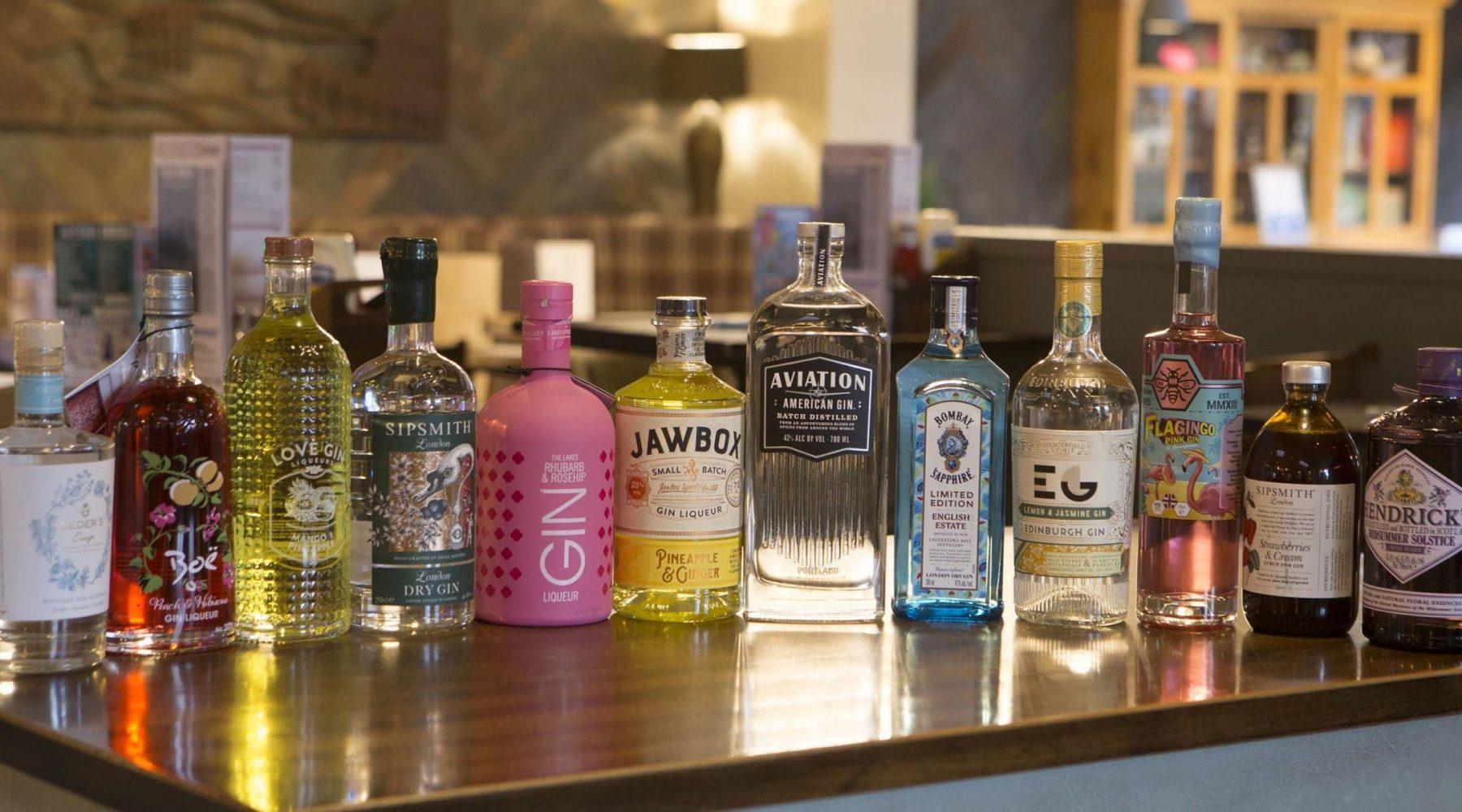 Gin festival tours Bingley, Shipley, Bradford and Cleckheaton