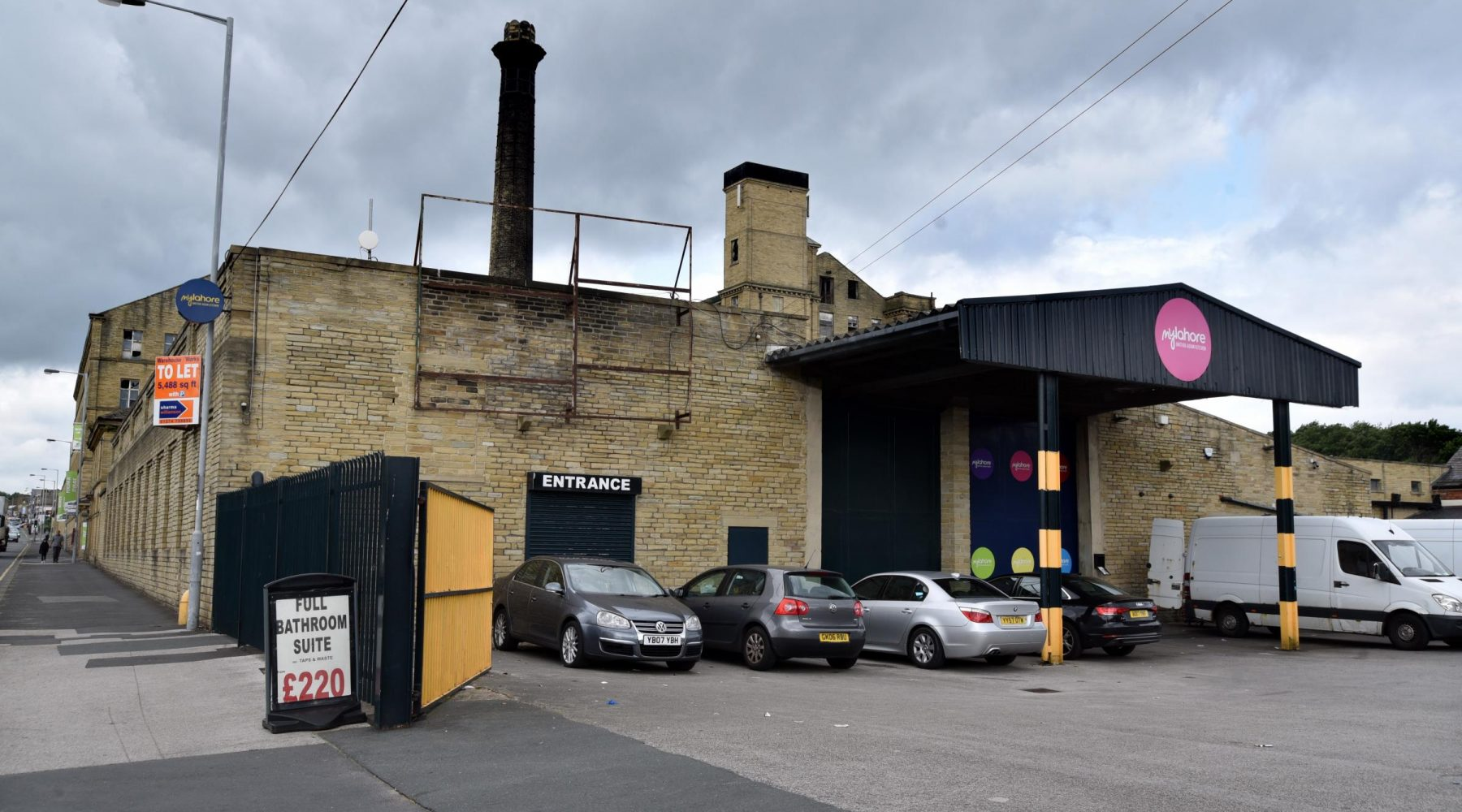 Toolstation signage for mill building approved