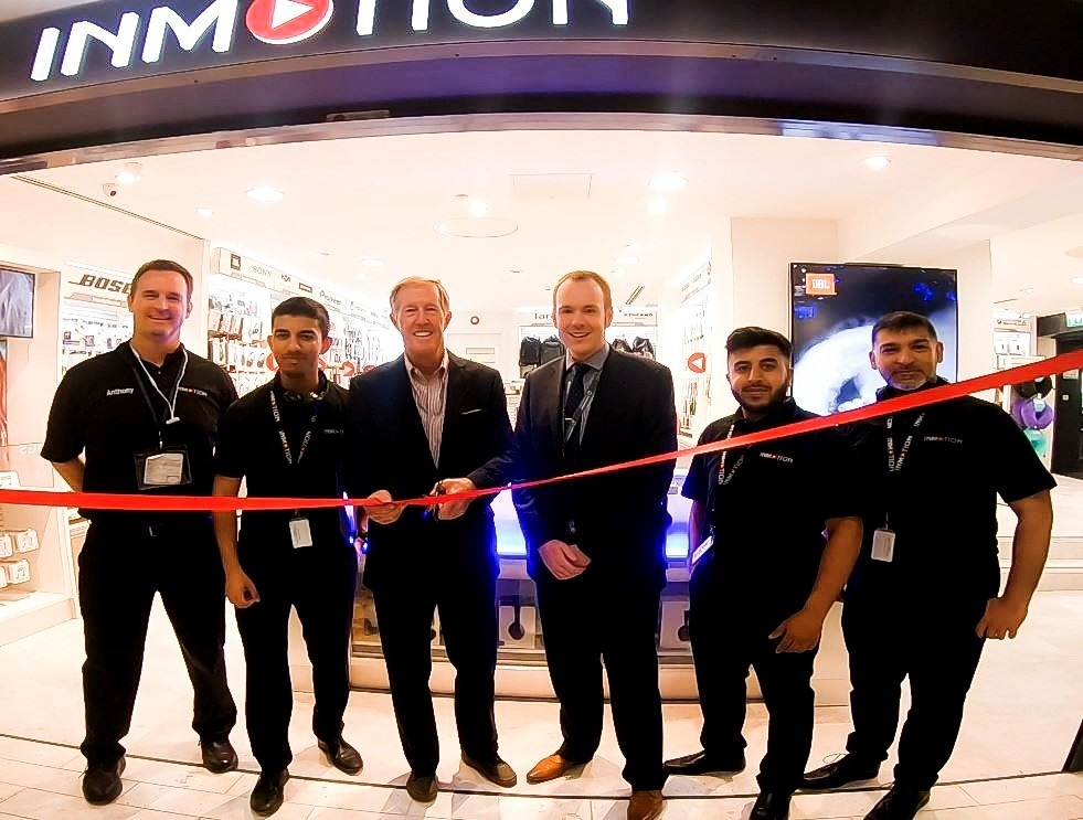 WHSmith InMotion store opened at Leeds Bradford Airport