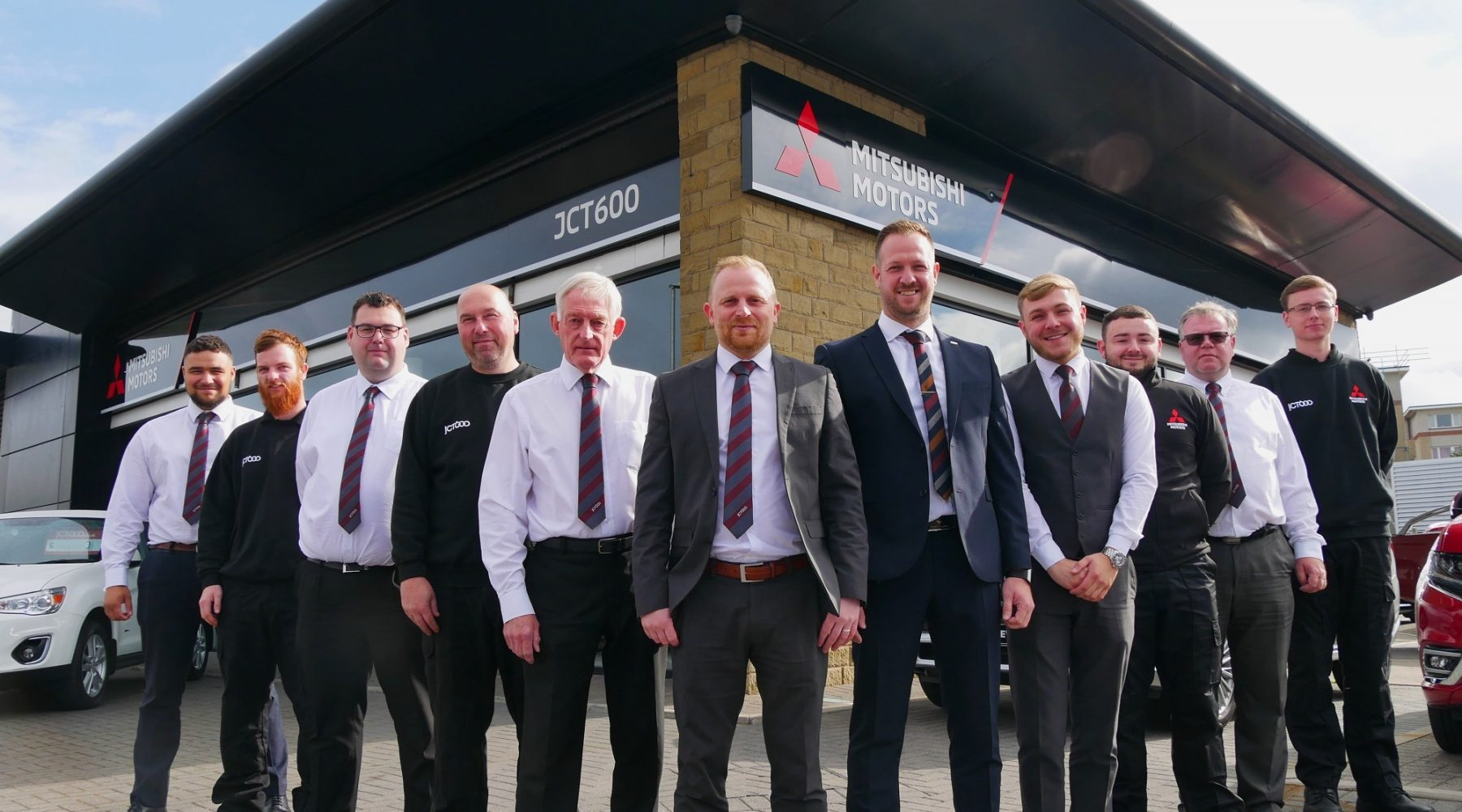 JCT600 opens new dealership in Bradford after Mitsubishi…