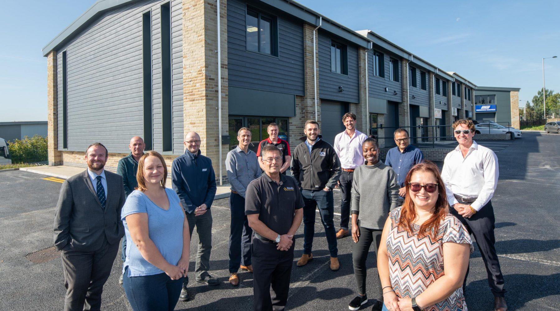 Bradford Nano Park welcomes four new businesses as…