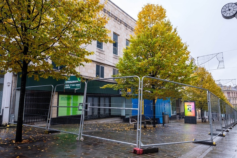 Work on Darley Street market site begins