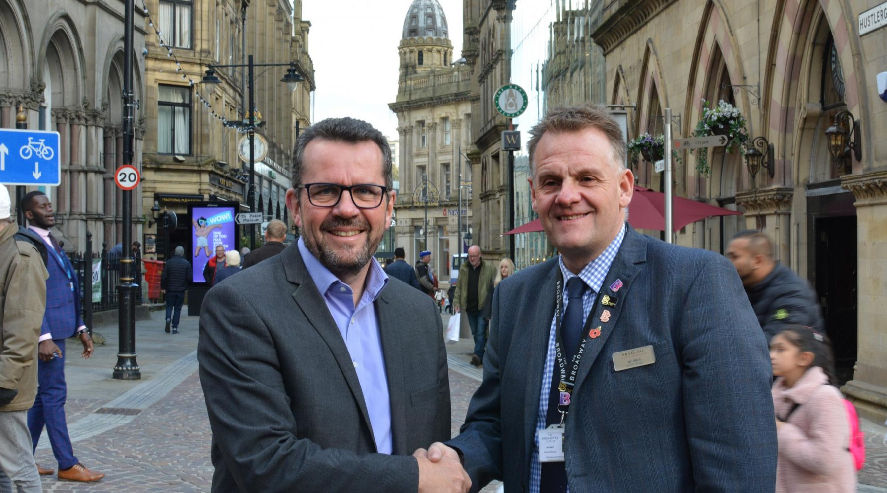 New cameras to count Bradford shoppers