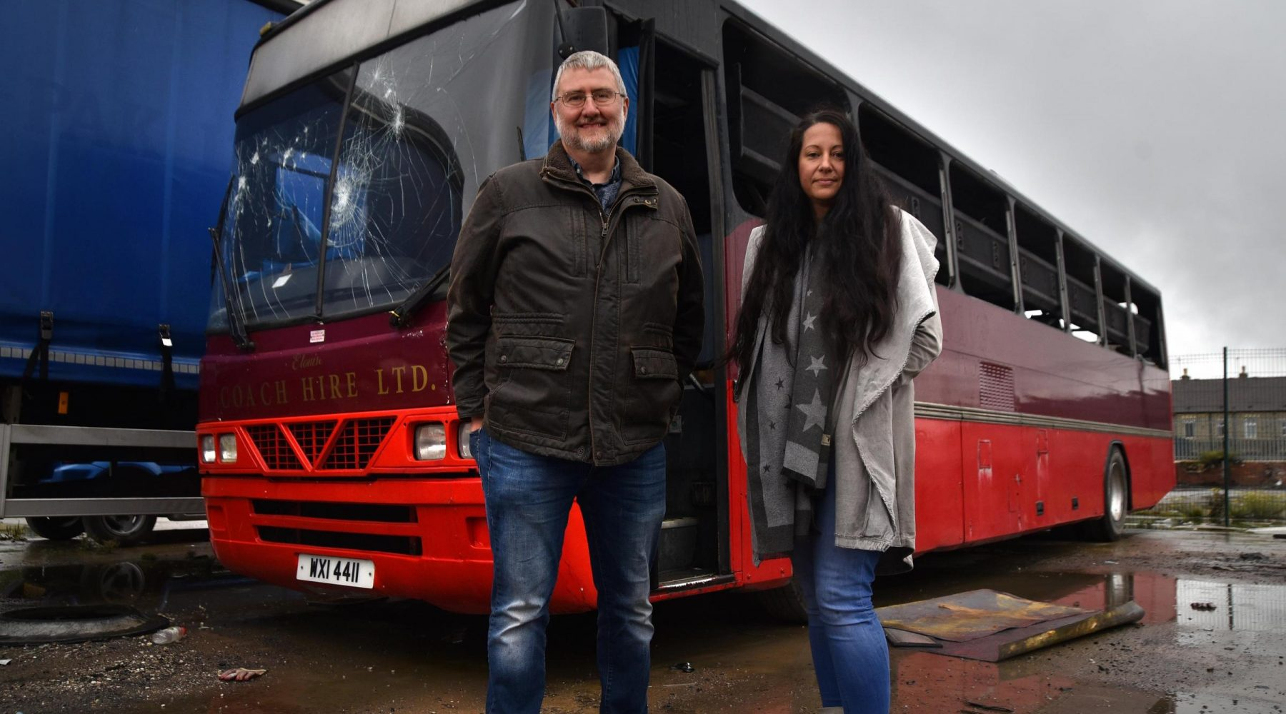 Trio behind homeless 'hygiene bus' hope to be…