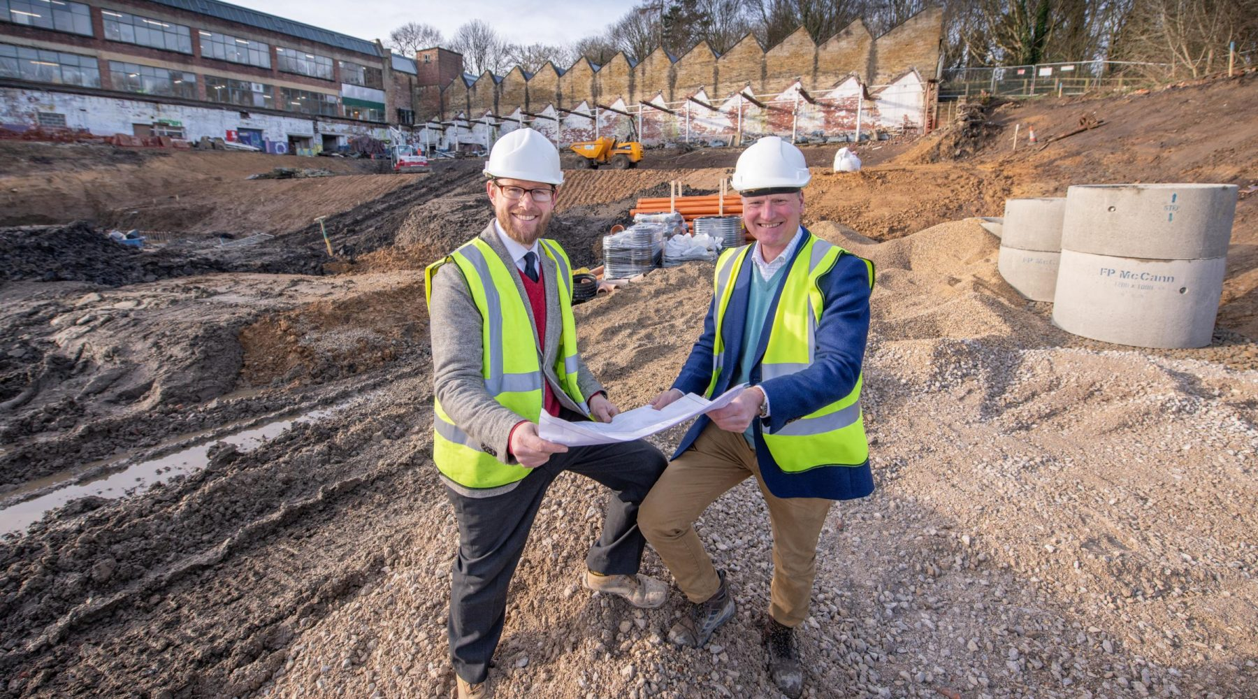 Work to further regenerate mill complex is underway