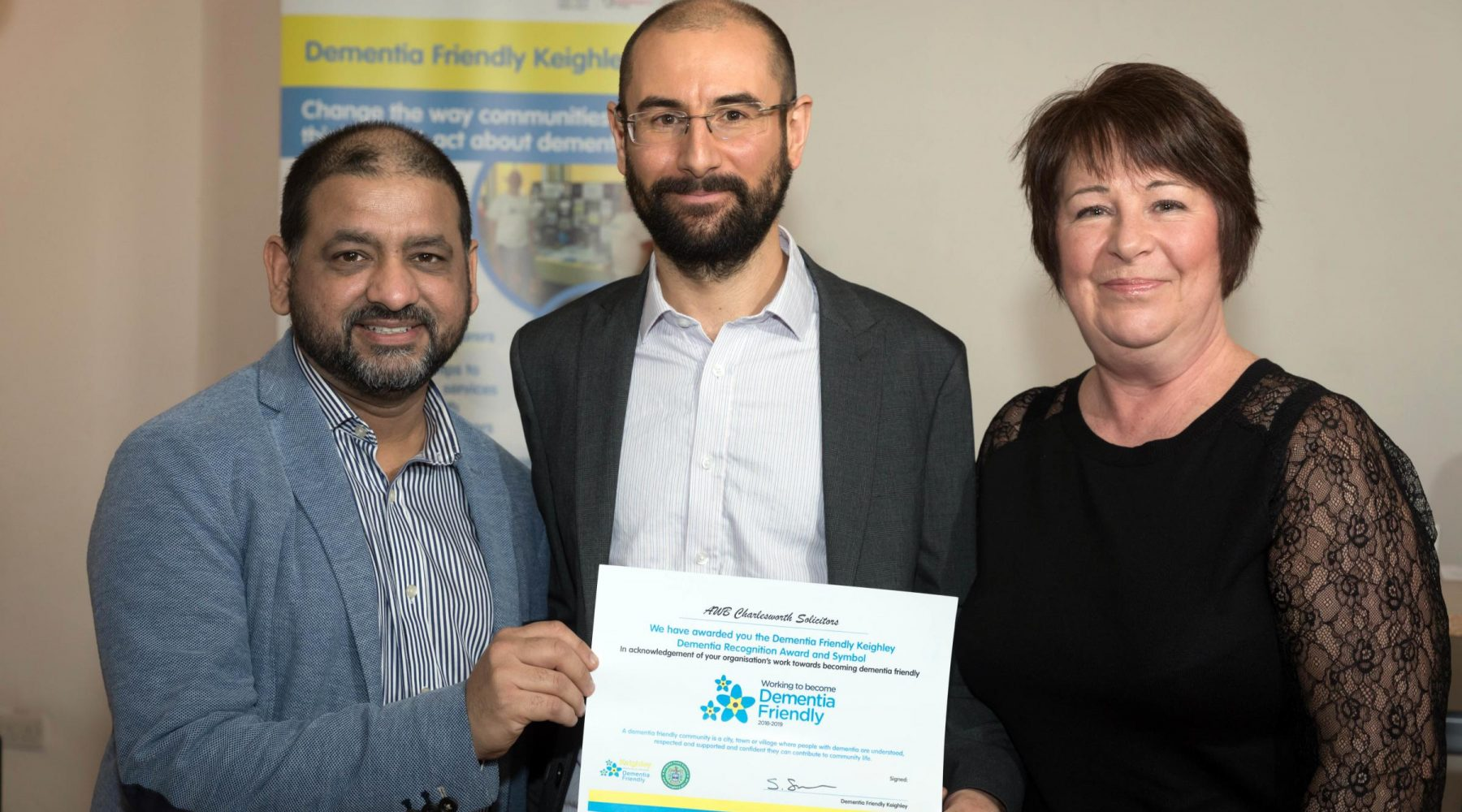 Bradford solicitors officially dementia friendly