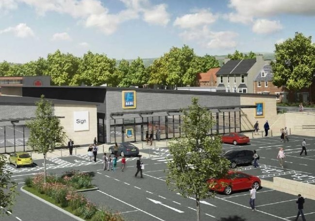 Opening of new Aldi is delayed