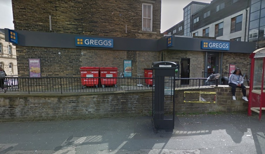 Greggs closes all of its stores in Bradford