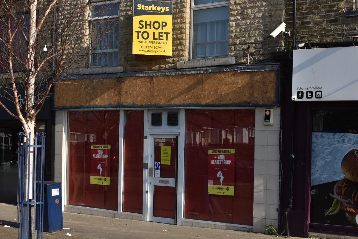 Take-away plan for former betting shop