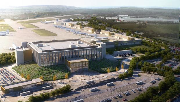 Leeds Bradford Airport: Call for 'pause' on terminal…