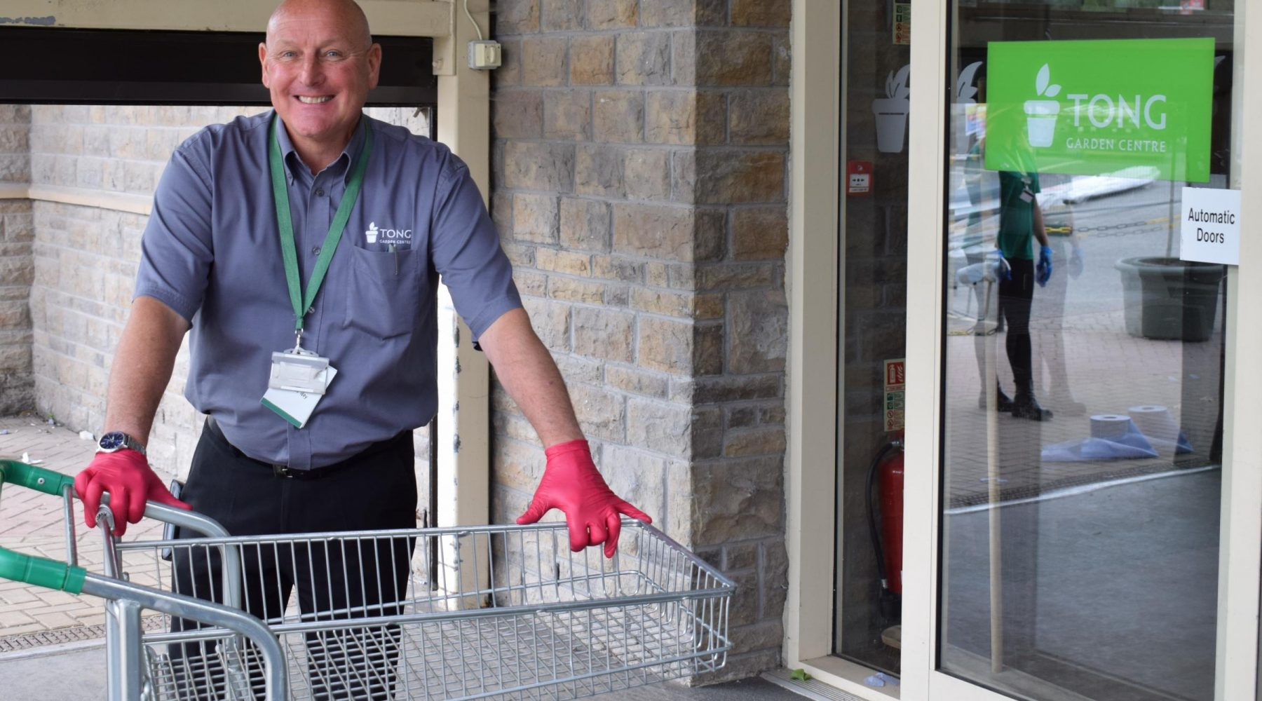 Public using Tong Garden Centre are thanked