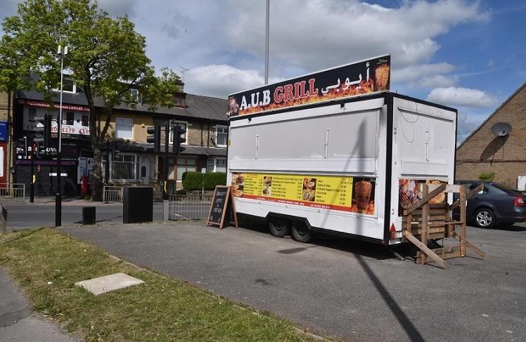 Retrospective food trailer plan is refused