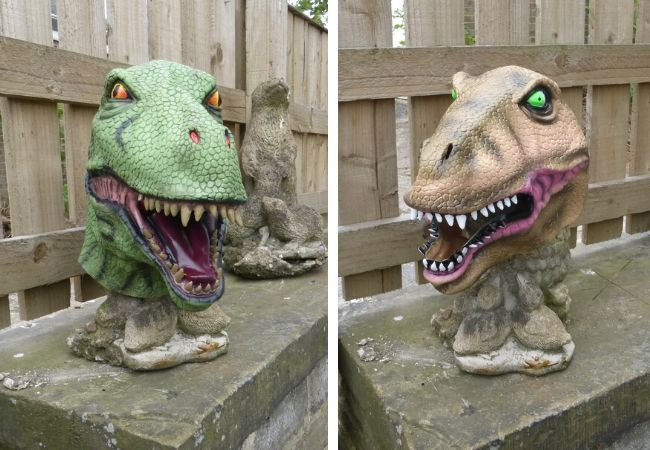 DINO THEFT: Neighbour who wanted to cheer up…