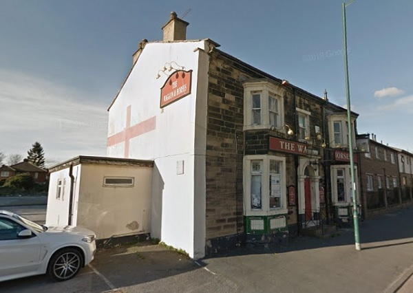 Jewellery shop plan for pub building in Bradford…