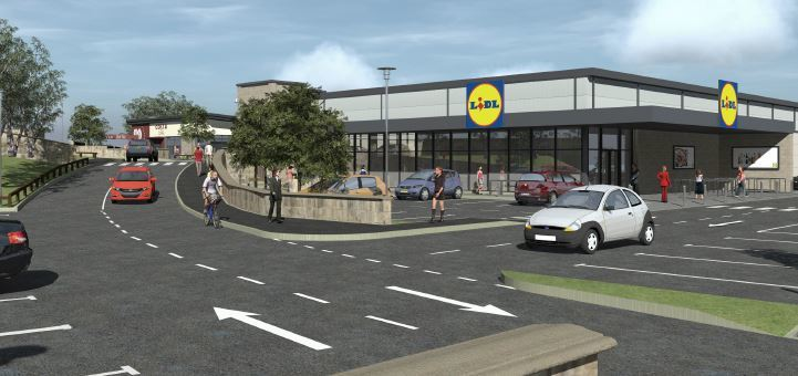 Town Council fears new Lidl will draw customers…