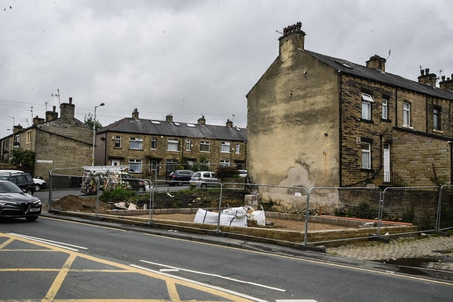 Shop and flats planned for site of demolished…
