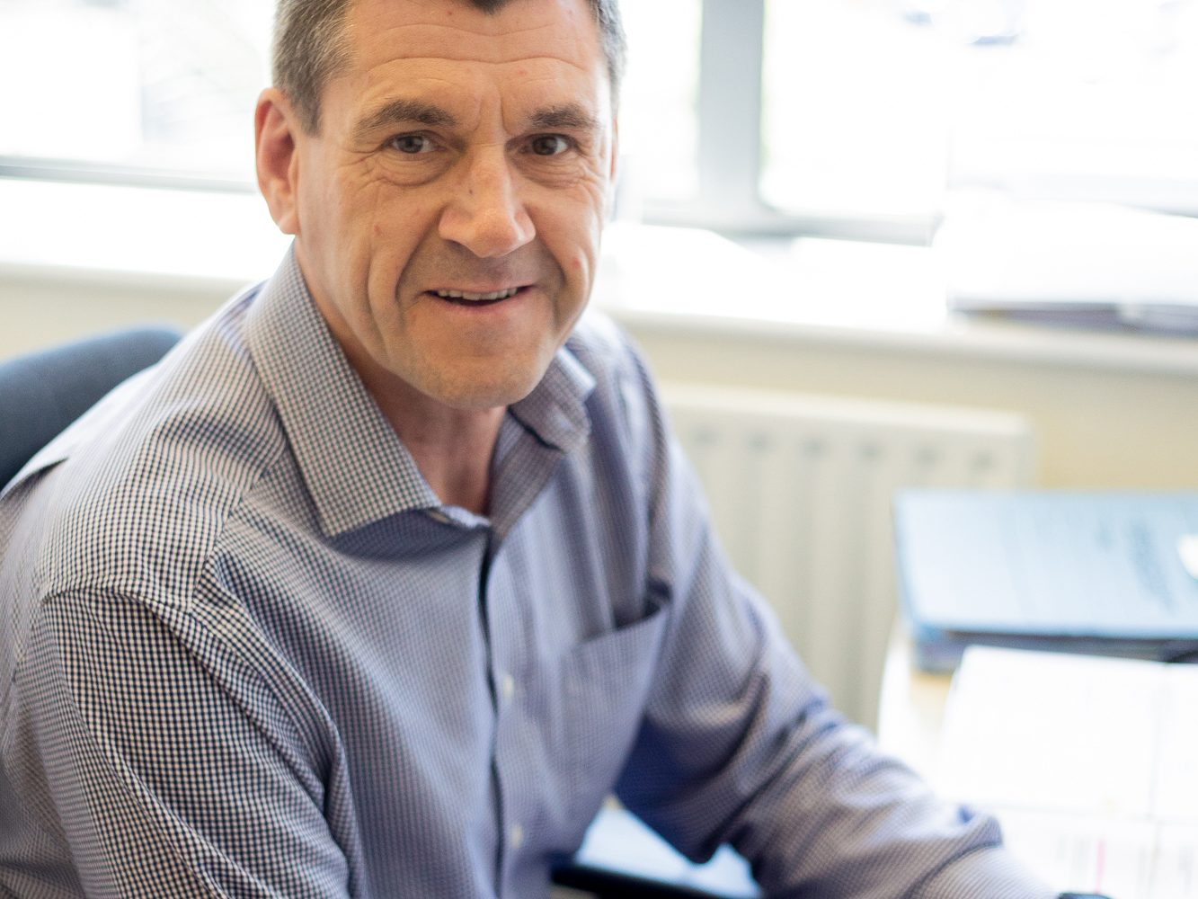 Bradford network chair retires from Cleckheaton accountants office