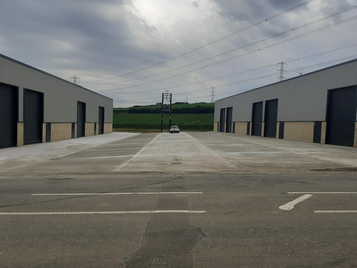 Industrial site near Thornton almost complete