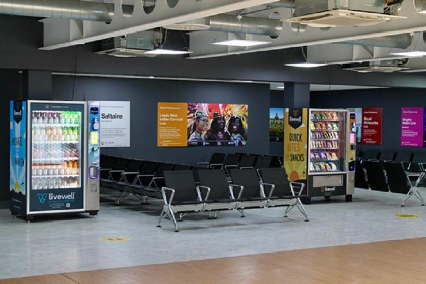 Safe vending is installed at Leeds-Bradford Airport