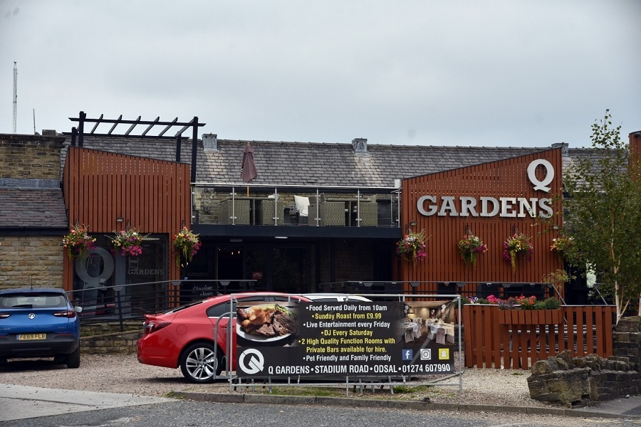 Q Gardens 'puts things right' after venue suffered…