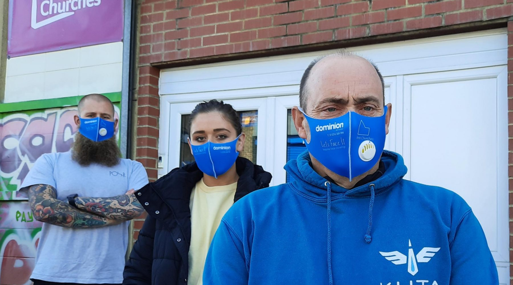 Bradford firm donates face masks to help charity…