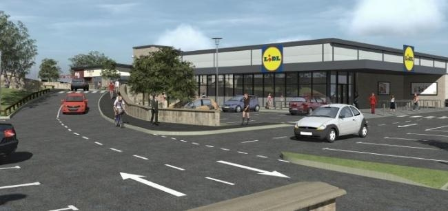 Plans for new Lidl and Costa, part of…