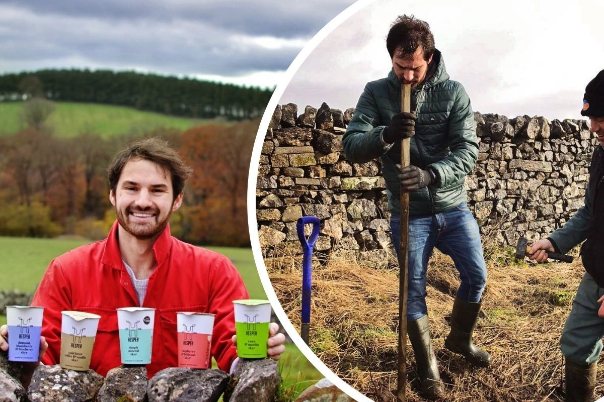 Skyr yoghurt farm donates to tree planting in…