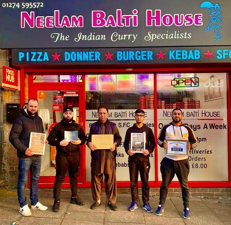 Shipley business owner says winning Best Curry Takeaway…