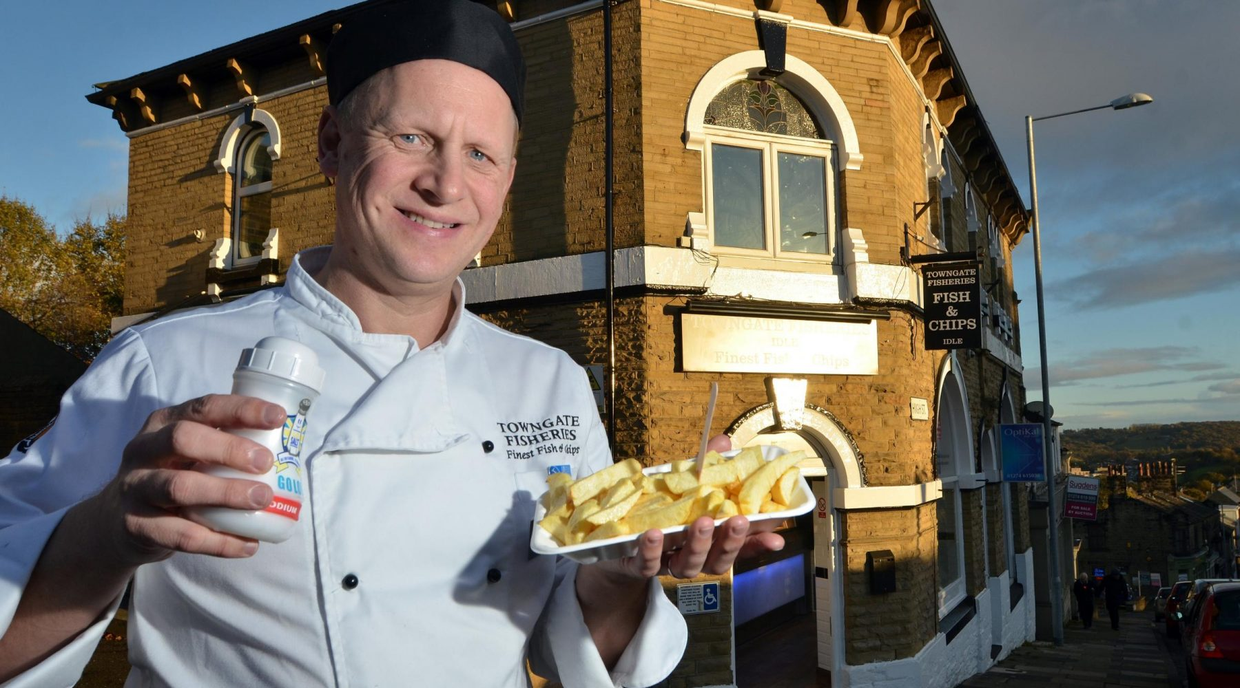 Bradford chippy ranked one of Britain's best for…