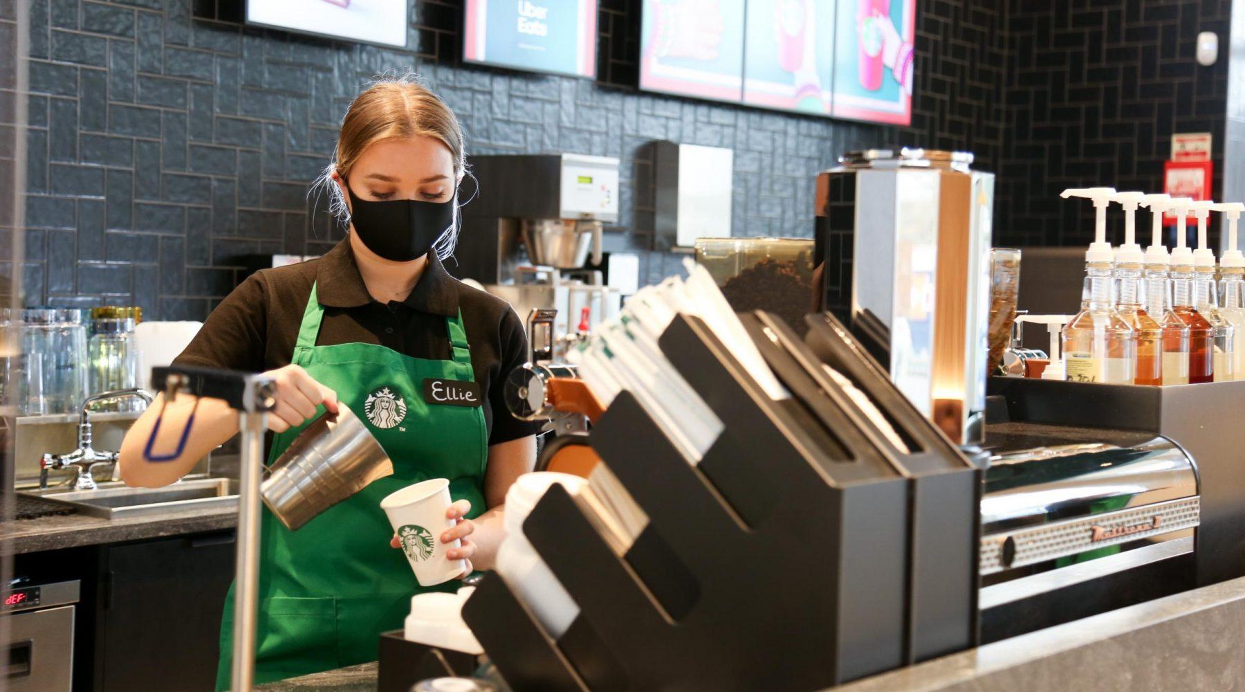 Starbucks hiring 400 new staff to cope with…