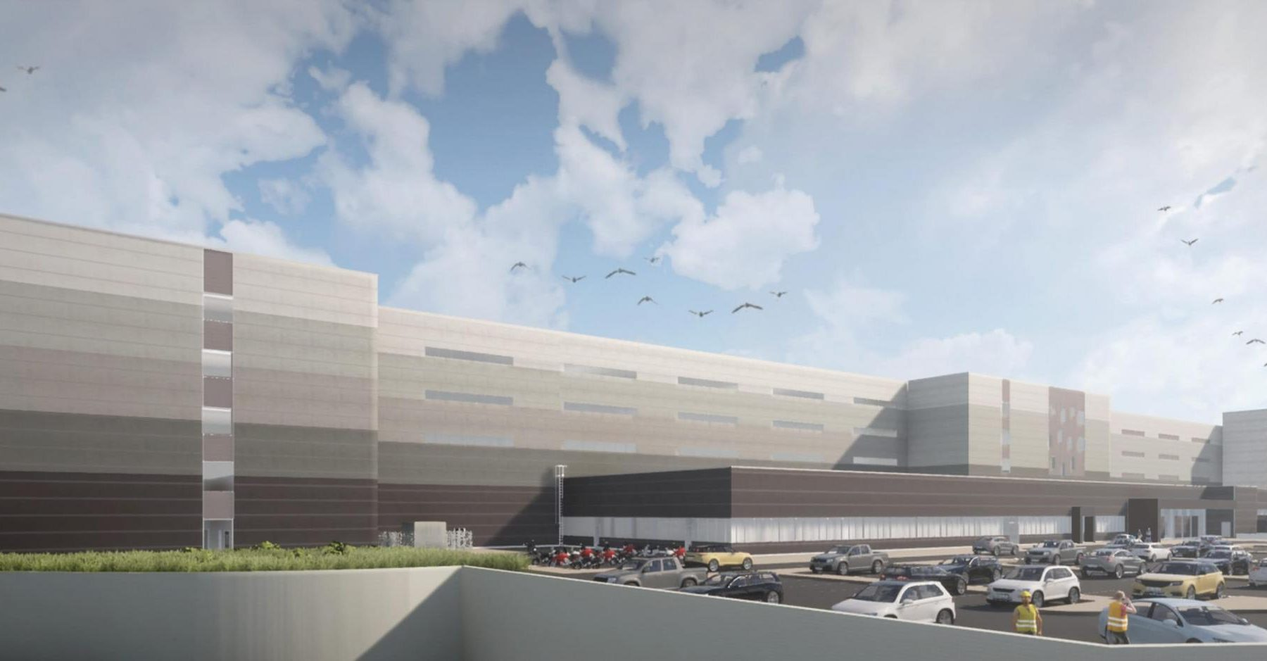 Amazon rumoured to be behind plans for mega-warehouse…